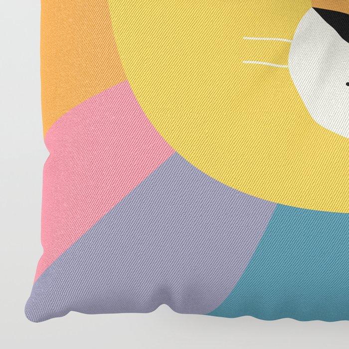 Lion Shine Floor Pillow
