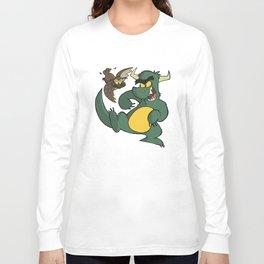 Avery Vs Dragon Long Sleeve T-shirt