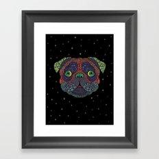 Intergalactic Dog Framed Art Print