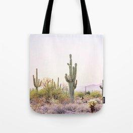 Cactus In The Desert Tote Bag