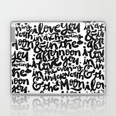 LOVE YOU IN THE MORNING... Laptop & iPad Skin