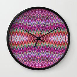 Missioni Style Raspberry Wall Clock