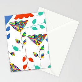 Flowers 45S Stationery Cards