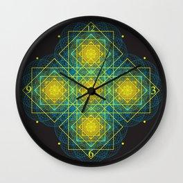 Matrice of Light Wall Clock