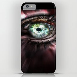Eye from Above iPhone Case