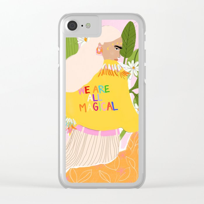 We are magical Clear iPhone Case