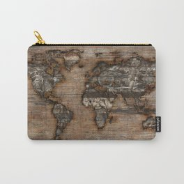 Reclaimed Map 2 Carry-All Pouch