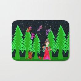 Night Fairy | Before Christmas | Kids Painting Bath Mat