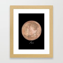 Mars #2 Framed Art Print