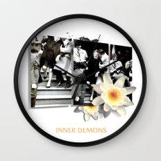 Inner Demons Wall Clock