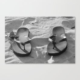 Sumner in Black and White  Canvas Print