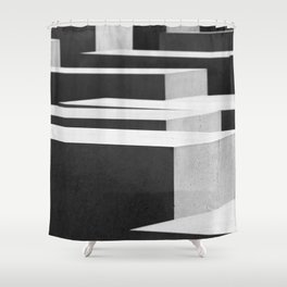 monument Shower Curtain