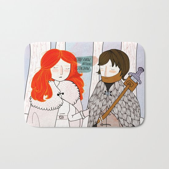 You Know Nothing Bath Mat