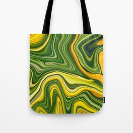 Sunny green marble Tote Bag