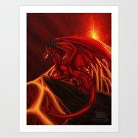 Lord of Chaos  Art Print