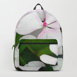 White Summer Hydrangea Backpack