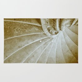 Sand stone spiral staircase 17 Rug