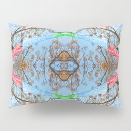 """Papel Picado Kaleidoscope"" by Murray Bolesta Pillow Sham"