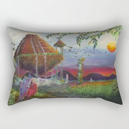 Forgotten Lands Rectangular Pillow