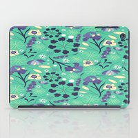 iris iPad Cases featuring Iris  by Ashley C. Kochiss