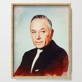 George Raft, Vintage Actor Serving Tray