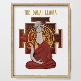 The Dalai Llama Serving Tray