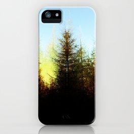 Symmetrical Fir iPhone Case