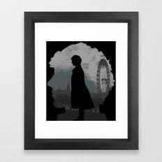 Sherlock Holmes world Framed Art Print