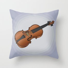 Violin / fiddle Throw Pillow
