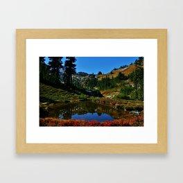 The Valley of Heaven Framed Art Print