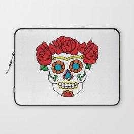 Rose Calavera Laptop Sleeve