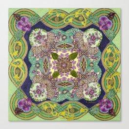 Intricate Garden Canvas Print