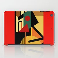 kandinsky iPad Cases featuring THE GEOMETRIST by THE USUAL DESIGNERS