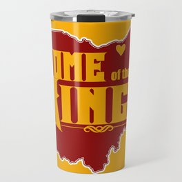 Home of the King (Yellow) Travel Mug