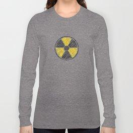 Radiology Radiation Logo Rad Tech Student Long Sleeve T-shirt