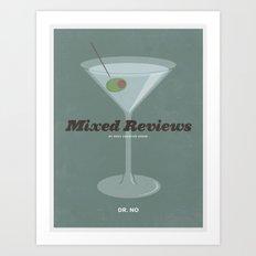 Mixed Reviews - Dr. No Art Print