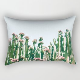 Blush Cactus #society6 #decor #buyart Rectangular Pillow