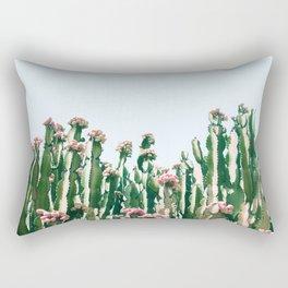 Blush Cactus #society6 #decor #buyart Rectangular Pillow