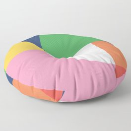 Abstract Geometric 15 Floor Pillow