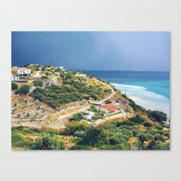 Samos, Greece After A Storm Canvas Print