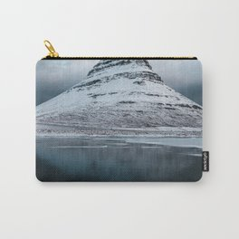 Iceland Mountain Reflection - Landscape Photography Carry-All Pouch