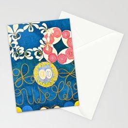 12,000pixel-500dpi - Hilma af Klint - Group IV, The Ten Largest, No. 1, Childhood - Digital Remaster Stationery Cards