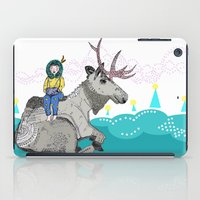 elk iPad Cases featuring Elk by Anne Augenblick