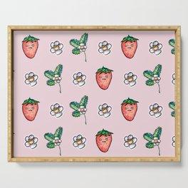 Grumpy Strawberry Serving Tray