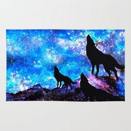 Wolf Trio Rug