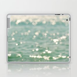 beach. bokeh sparkle. ocean. La Mer Laptop & iPad Skin
