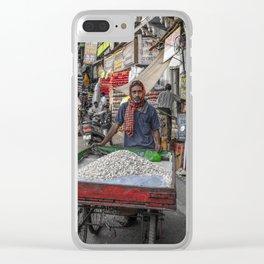 Mercado Varansi Clear iPhone Case