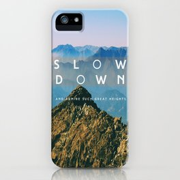 Great heights iPhone Case
