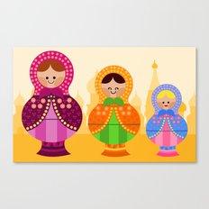 Matrioskas 2 (Russian dolls 2) Canvas Print