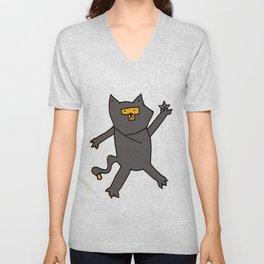 Ninja Kitty Unisex V-Neck